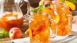 Es teh dengan buah